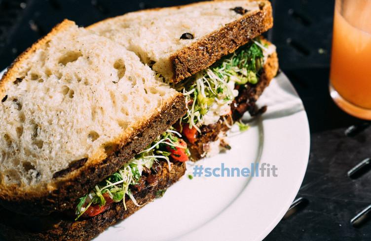 Tatar-Kresse-Sandwich