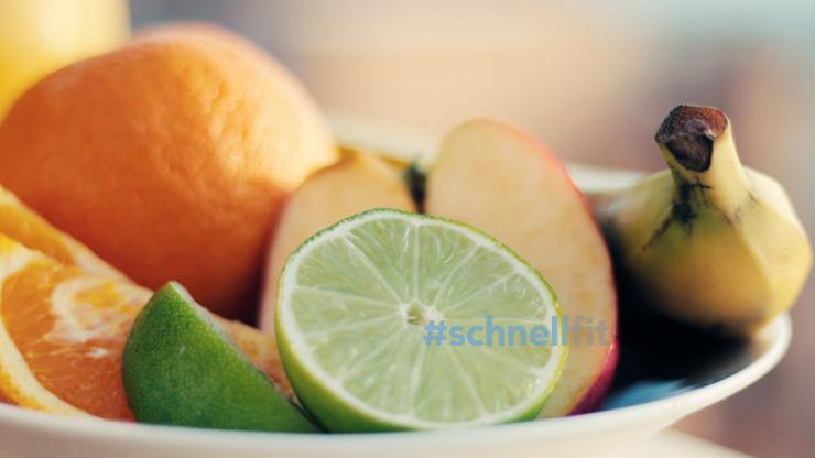 Zwischenmahlzeit Obst