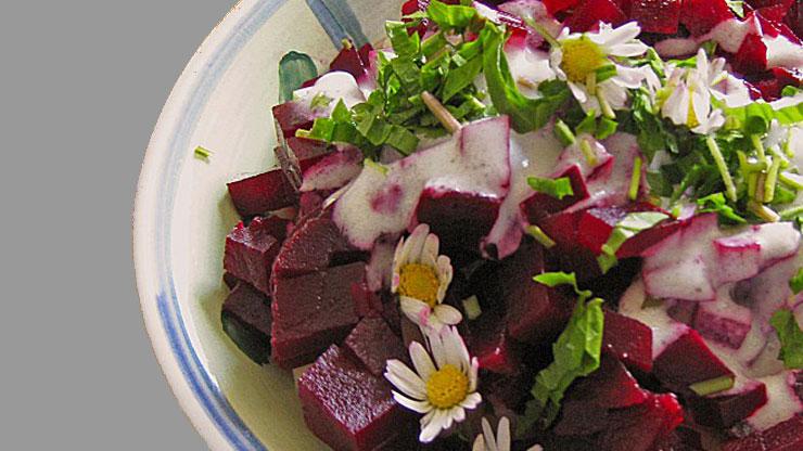Apfel Rote Beete Salat